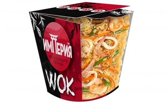 Заказать Коробочка wok Рис с морепродуктами с доставкой на дом в Новосибирске, Империя суши