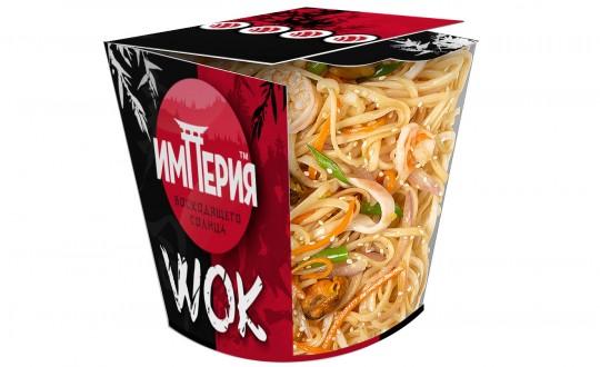 Заказать Коробочка wok Удон с морепродуктами с доставкой на дом в Новосибирске, Империя суши