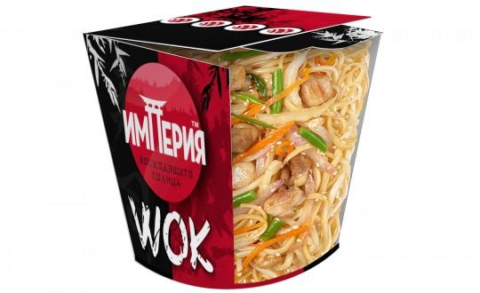 Заказать Коробочка wok Удон с курицей с доставкой на дом в Новосибирске, Империя суши