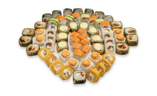 Заказать Сет Ниндзя с доставкой на дом в Новосибирске, Империя суши