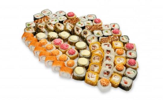 Заказать Сет Движуха-Вечеруха с доставкой на дом в Новосибирске, Империя суши
