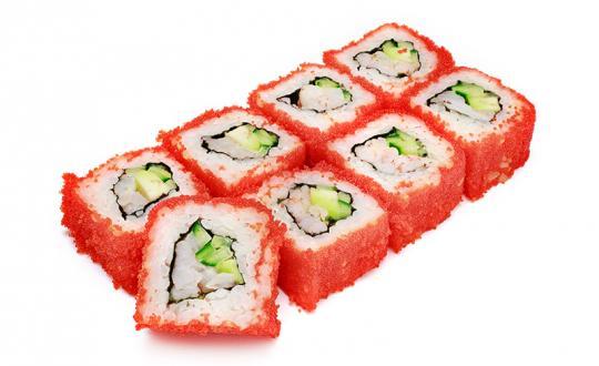 Заказать Ролл Калифорния с доставкой на дом в Новосибирске, Империя суши