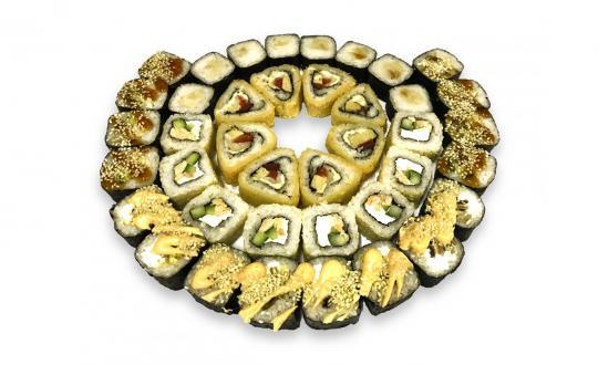 Заказать Сет Фееричный с доставкой на дом в Новосибирске, Империя суши