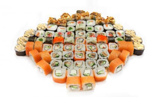 Заказать Сет компанейский с доставкой на дом в Новосибирске, Империя суши