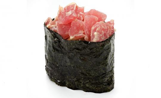 Заказать Спайси магуро гункан с доставкой на дом в Новосибирске, Империя суши