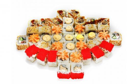 Заказать Сет Улетный с доставкой на дом в Новосибирске, Империя суши