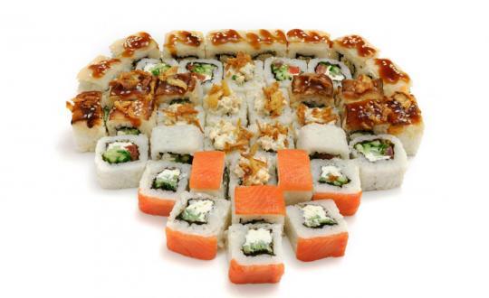 Заказать сет Макарена с доставкой на дом в Новосибирске, Империя суши
