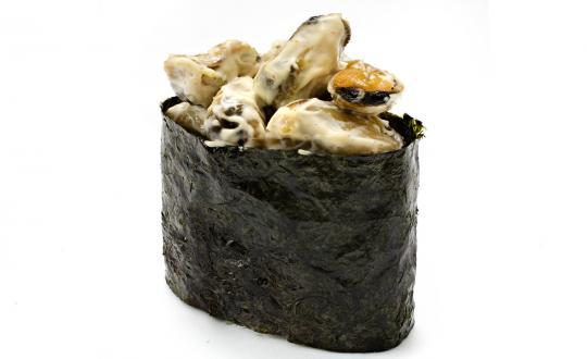 Заказать Миди спайси гункан с доставкой на дом в Новосибирске, Империя суши