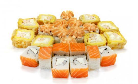 Заказать Прикольный сет с доставкой на дом в Новосибирске, Империя суши