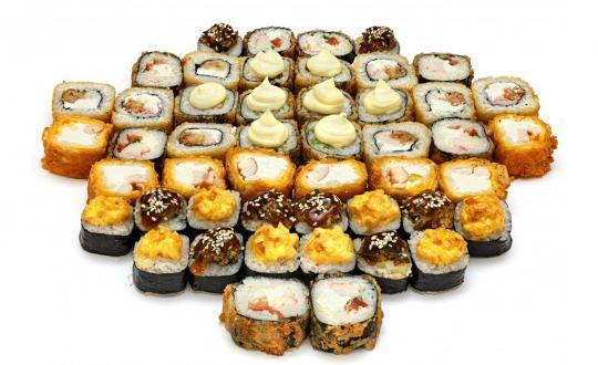 Заказать сет Супержара с доставкой на дом в Новосибирске, Империя суши