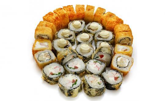 Заказать сет Сет Жара с доставкой на дом в Бийске, Империя суши