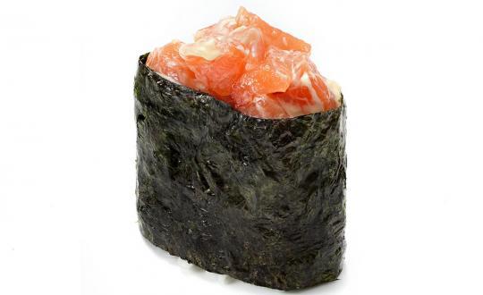 Заказать Сяке спайси гункан с доставкой на дом в Новосибирске, Империя суши