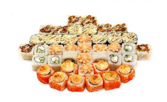Заказать Сет Варежка с доставкой на дом в Новосибирске, Империя суши