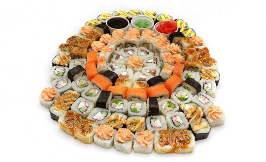 Заказать Сет для друзей - все включено! с доставкой на дом в Новосибирске, Империя суши