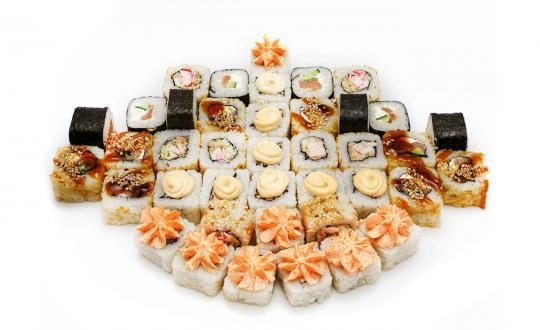 Заказать сет Суперский с доставкой на дом в Новосибирске, Империя суши