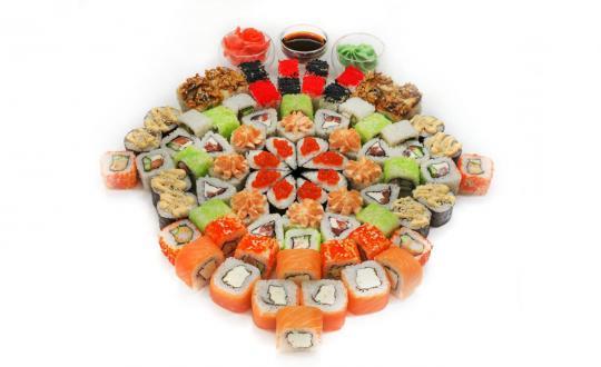Заказать сет Праздничный сет - все включено! с доставкой на дом в Новосибирске, Империя суши
